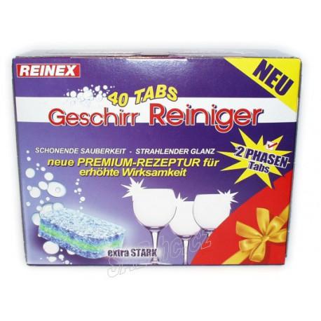 Mycí tablety do myčky 40ks Reinex