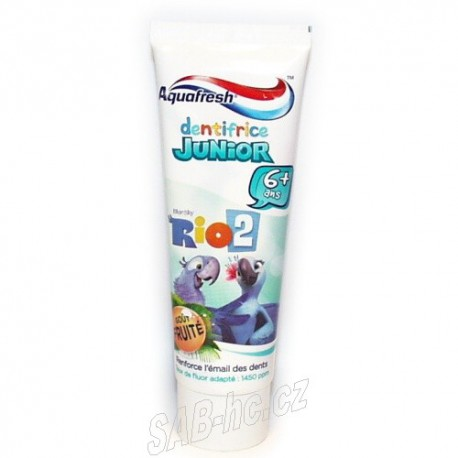 Aquafresh junior 75ml zubní pasta
